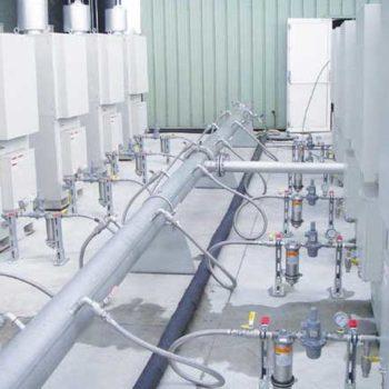 distribution de biogaz sur les turbines