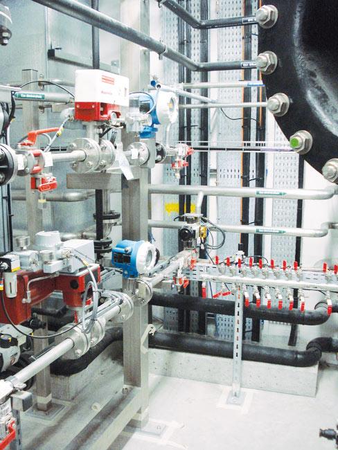 Bossard : projet dans le secteur de la chimie fine (GUERBET)