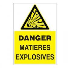 produits explosifs